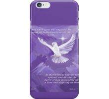 The Holy Spirit Descending as a Dove iPhone Case/Skin