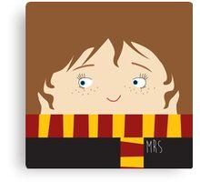 Hermione, harry potter Canvas Print