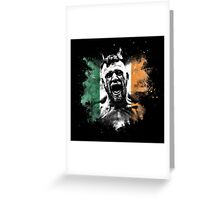 McGregor Explosive Tricolour Greeting Card