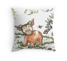 Junior Pig Throw Pillow
