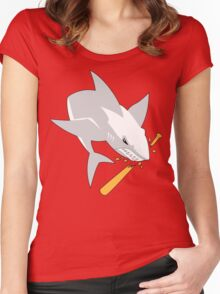 The White Shark Women's Fitted Scoop T-Shirt