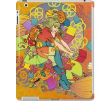 Adventure is on the Pages iPad Case/Skin