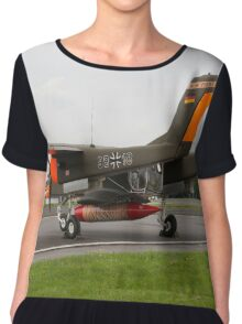Bronco Demo Team Chiffon Top