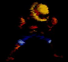 Luffy Pixelated by HellFury