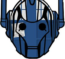 cyberman tardis by Audrey Metcalf