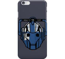 cyberman tardis iPhone Case/Skin