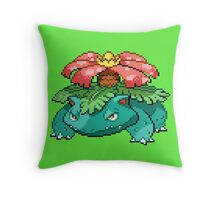 Venusaur Throw Pillow