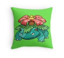 Venusaur Throw Pillow