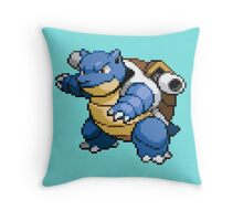 Blastoise Throw Pillow