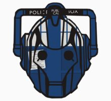 cyberman tardis Kids Clothes
