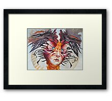 The Perplexing Murmur  Framed Print