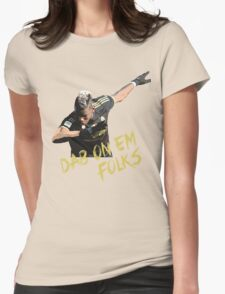 Pogba - Dab On Em Folks Womens Fitted T-Shirt