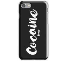 Cocaine Paris - White   iPhone Case/Skin