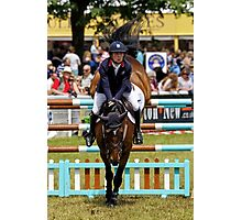 Show Jumping at the 2016 Royal Bath & West Show Photographic Print