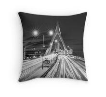 Zakim Bridge Throw Pillow