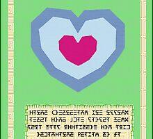 Legend of Zelda Heart Container by CastleDownpour