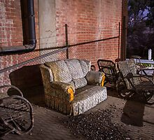 Abandoned Couch by sedge808