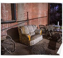 Abandoned Couch Poster