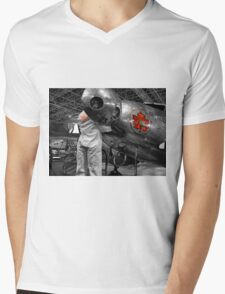 trans canada airlines Mens V-Neck T-Shirt