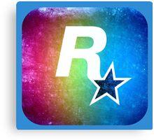 °GEEK° Rockstar Rainbow Canvas Print