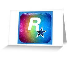°GEEK° Rockstar Rainbow Greeting Card