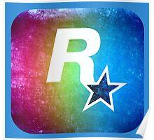 °GEEK° Rockstar Rainbow Poster