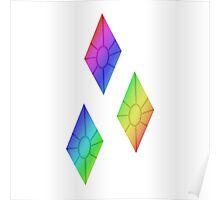 MLP - Cutie Mark Rainbow Special - Rarity V2 Poster