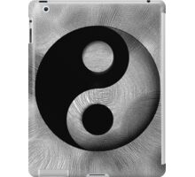 Yin-Yang Black a. White iPad Case/Skin
