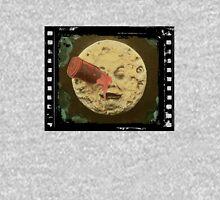 Vintage Trip to the Moon colour Unisex T-Shirt