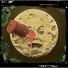 Vintage Trip to the Moon colour by monsterplanet
