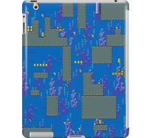 Super Mario World water stage iPad Case/Skin
