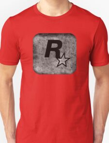 °GEEK° Rockstar B&W Logo Unisex T-Shirt
