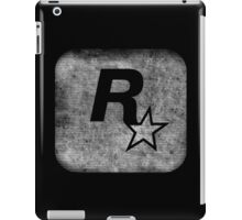°GEEK° Rockstar B&W Logo iPad Case/Skin