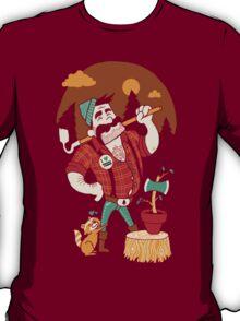 Green Thumberjack T-Shirt