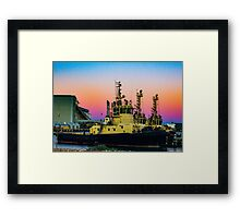 Geraldton Port Framed Print