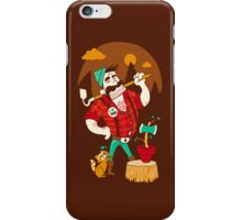 Green Thumberjack iPhone Case/Skin
