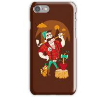 Green Thumberjack iPhone Case/Skin
