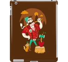 Green Thumberjack iPad Case/Skin