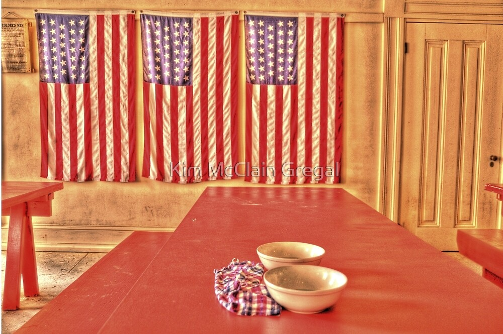 Fort Delaware Dining Hall by Kim McClain Gregal