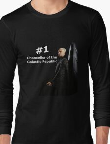 Sheev Palpatine - Number 1 Chancellor Long Sleeve T-Shirt