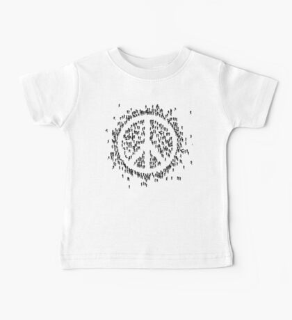 all we are saying.... is give peace a chance.... Baby Tee