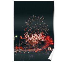 Lantern Festival Fireworks II Poster