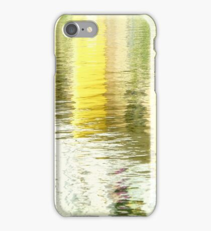 Water colour, yellow iPhone Case/Skin