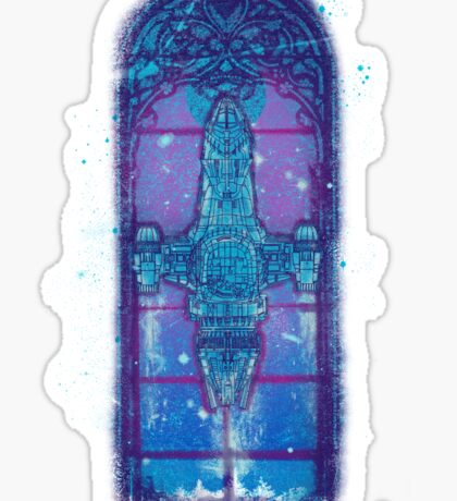 serenity mosaica Sticker