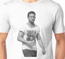 Ryan Gosling-Macaulay Culkin wearing shirt Mind Blow Unisex T-Shirt