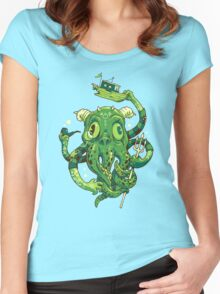 Sir Charles Cthulhu Women's Fitted Scoop T-Shirt