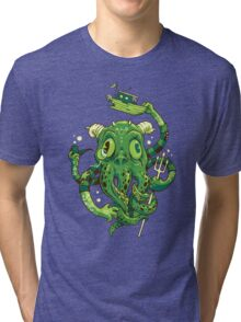 Sir Charles Cthulhu Tri-blend T-Shirt