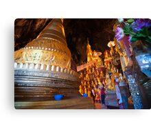 Pagoda, Myanmar Canvas Print