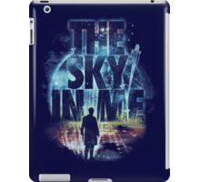 the sky in me iPad Case/Skin