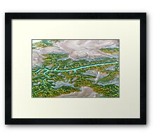 Earth Abstract Framed Print